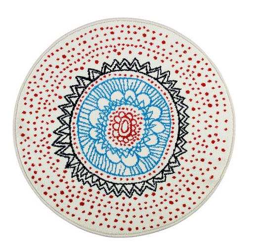 On veut un tapis rond pour embellir une piu00e8ce : Inspiration deko
