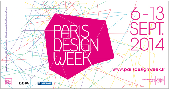 paris design week 2014 suivez le guide inspiration deko. Black Bedroom Furniture Sets. Home Design Ideas
