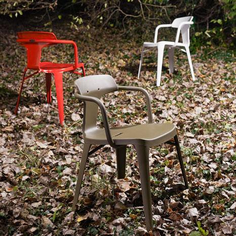 La nouvelle chaise tolix t14 by patrick norguet inspiration deko - Chaise industrielle tolix ...