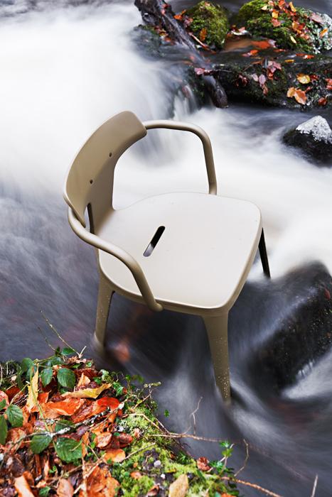 Chaise T14, Tolix by Patrick Norguet