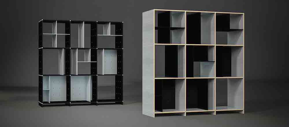 bespoke edition du mobilier de designer sur mesure inspiration deko. Black Bedroom Furniture Sets. Home Design Ideas