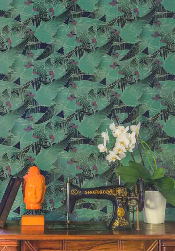 atelier virg l diteur de papiers peints inspiration deko. Black Bedroom Furniture Sets. Home Design Ideas
