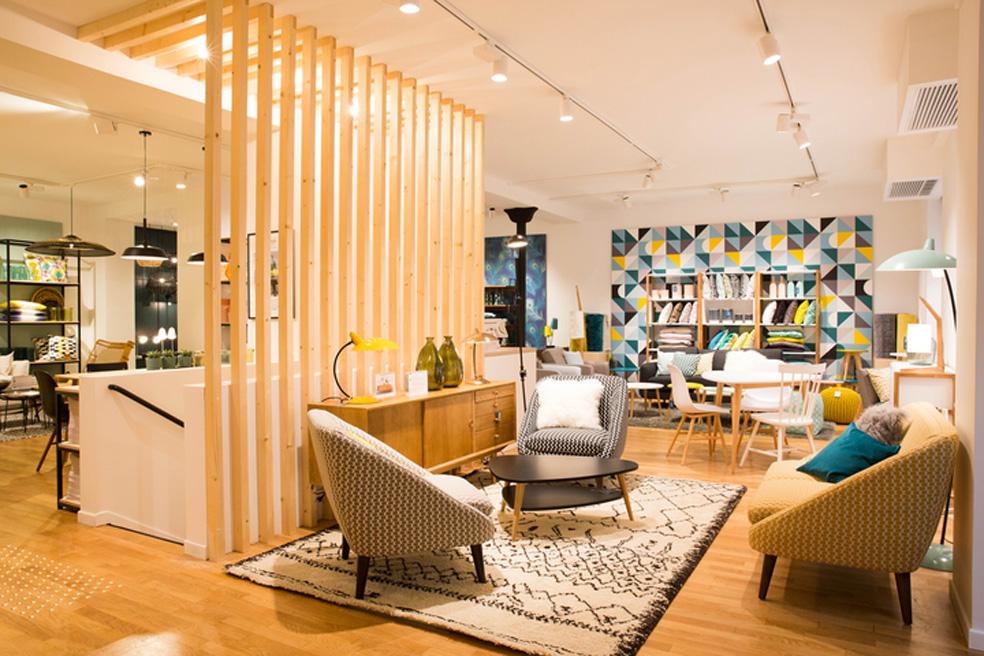 La redoute int rieurs en boutique paris inspiration deko for Boutique de decoration paris