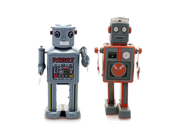 Robot Tin Toy chez Love Creative People