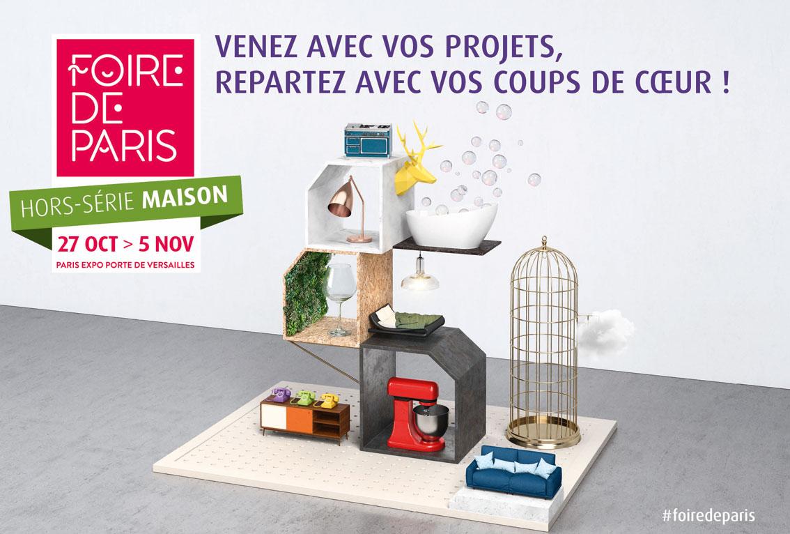 Foire de Paris - Hors-série Maison 2017